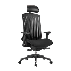 KB-8912B Adjustable Arms with Nylon Base Managers Chair